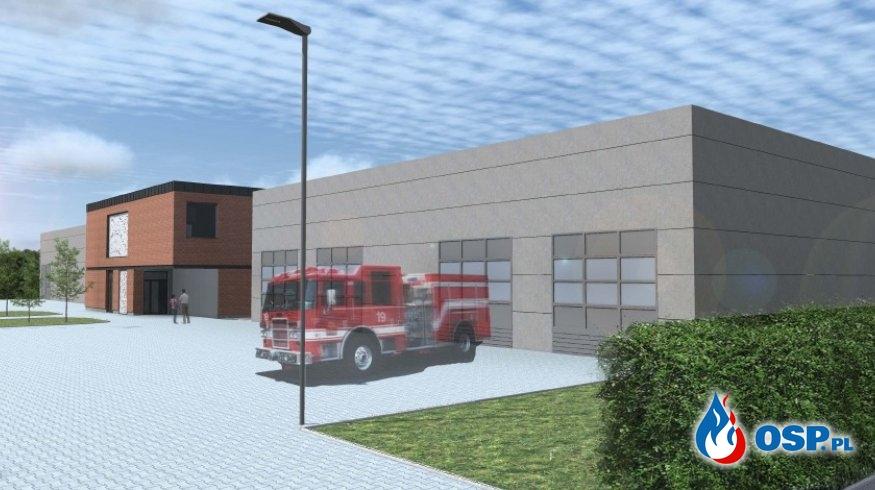 Ruszyła budowa nowej siedziby dla poznańskich strażaków OSP OSP Ochotnicza Straż Pożarna
