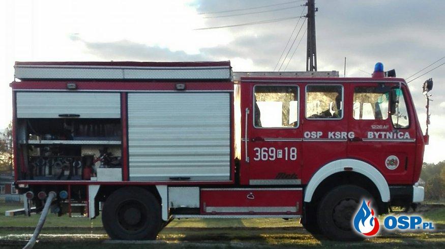 ALARM! Zgłoszony Pożar przy garażach OSP Ochotnicza Straż Pożarna