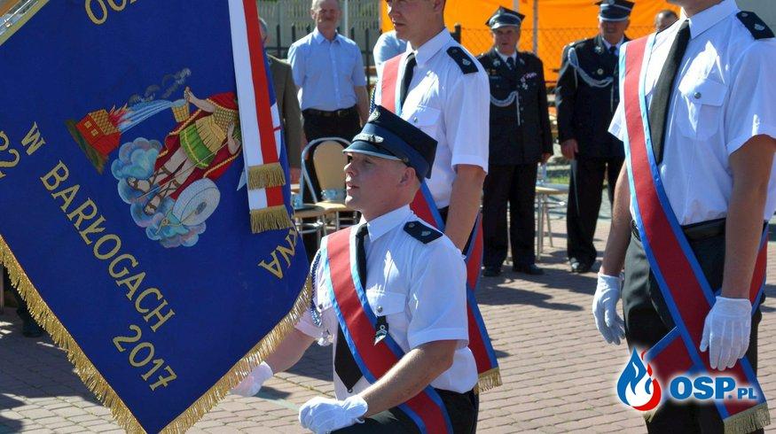 Jubileusz 85-lecia OSP w Barłogach oraz przekazanie nowego sztandaru. OSP Ochotnicza Straż Pożarna