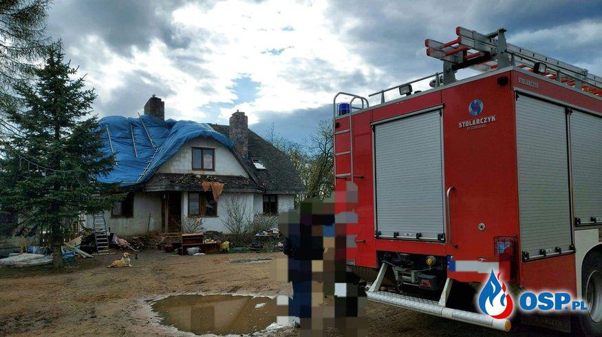 Wyjazd gospodarczy OSP Ochotnicza Straż Pożarna