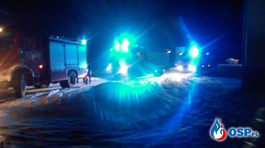 21.01-Pożar sadzy w Kliczkowie  OSP Ochotnicza Straż Pożarna