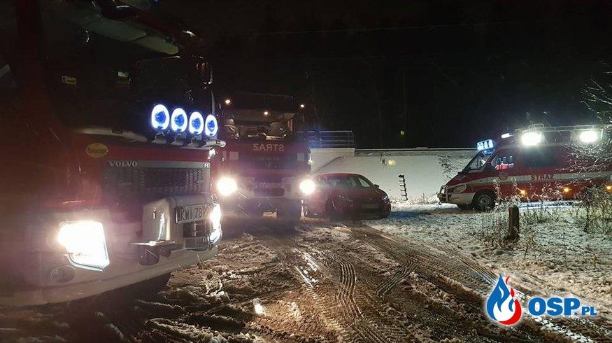 Śmiertelne potrącenie przez pociąg OSP Ochotnicza Straż Pożarna