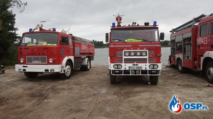 Ćwiczenia wewnątrzgminne w Orchowie OSP Ochotnicza Straż Pożarna