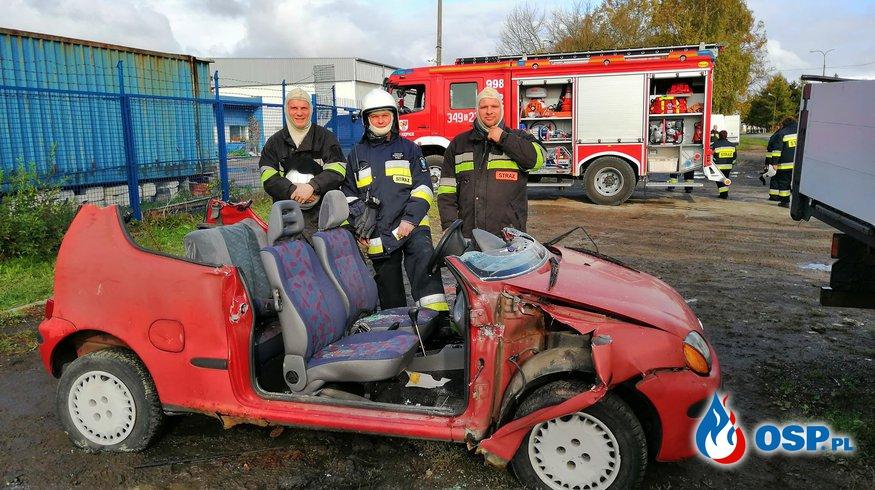 Szkolenie z ratownictwa technicznego 28-10-2018 OSP Ochotnicza Straż Pożarna