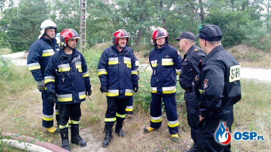 Niezapowiedziane ćwiczenia przeciwpowodziowe OSP Ochotnicza Straż Pożarna