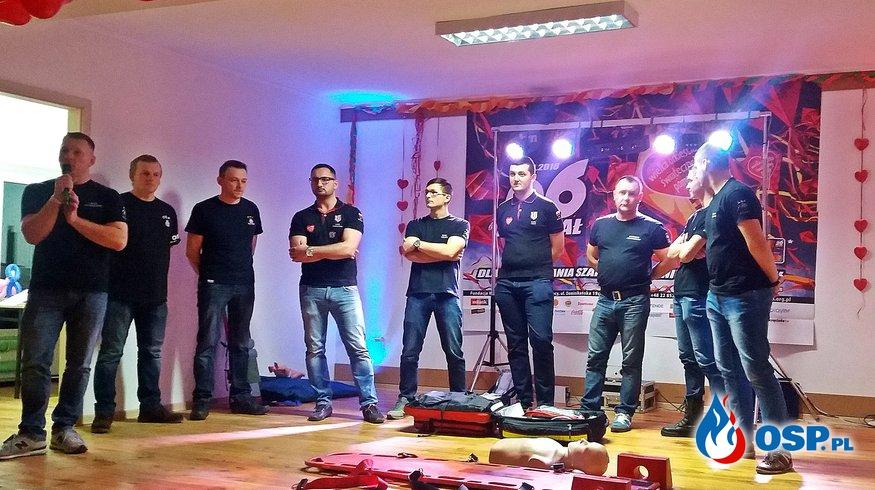 26 finał WOŚP - Pokaz ratownictwa medycznego OSP Ochotnicza Straż Pożarna