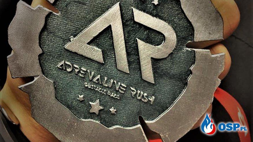 Zabezpieczenie I edycji Adrenaline Rush w Osadzie Młynarza OSP Ochotnicza Straż Pożarna