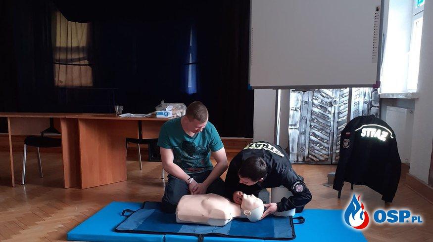 """Akcja """"PoznajmySIE"""" - Sylwetki strażaków ochotników - Piotr Dobrowolski OSP Ochotnicza Straż Pożarna"""