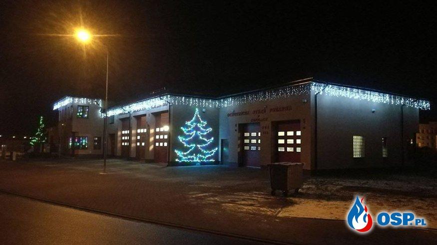 Świątecznie w Gminnym Centrum Ratownictwa OSP Ochotnicza Straż Pożarna
