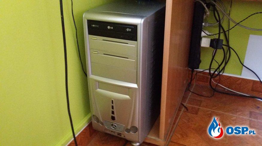 Nowy Komputer dla OSP Trzebiatów OSP Ochotnicza Straż Pożarna