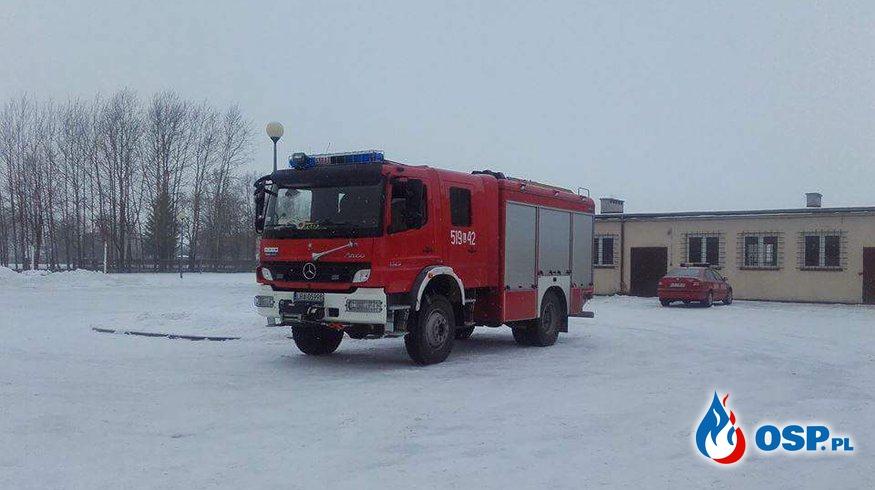 Zabezpieczenie  OSP Ochotnicza Straż Pożarna
