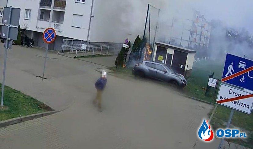 13-latek podpalał i oglądał akcje gaśnicze strażaków. OSP Ochotnicza Straż Pożarna