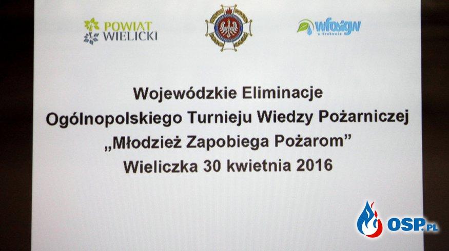 Eliminacje Wojewódzkie Ogólnopolskiego Turnieju Wiedzy Pożarniczej woj. małopolskiego OSP Ochotnicza Straż Pożarna