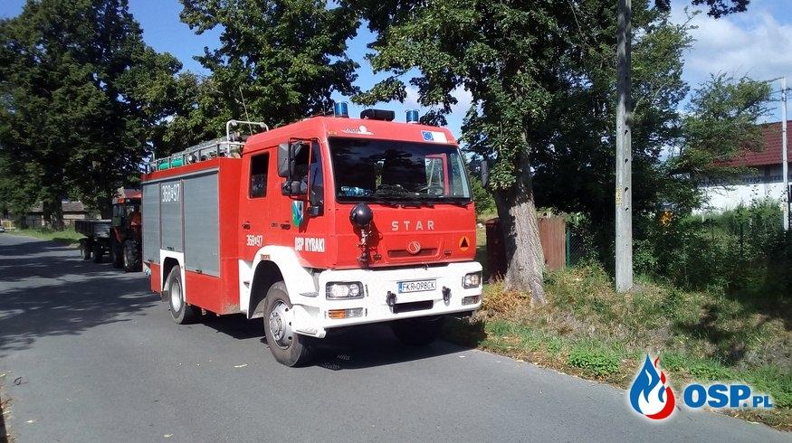 Prawie jak w KSRG - 5 wyjazd z rzędu OSP Ochotnicza Straż Pożarna