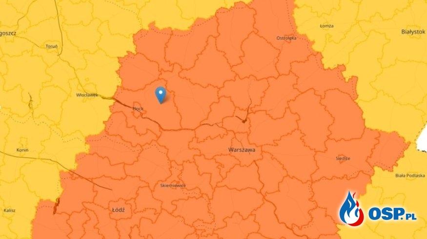 IMGW wydało ostrzeżenia przed burzami z gradem OSP Ochotnicza Straż Pożarna
