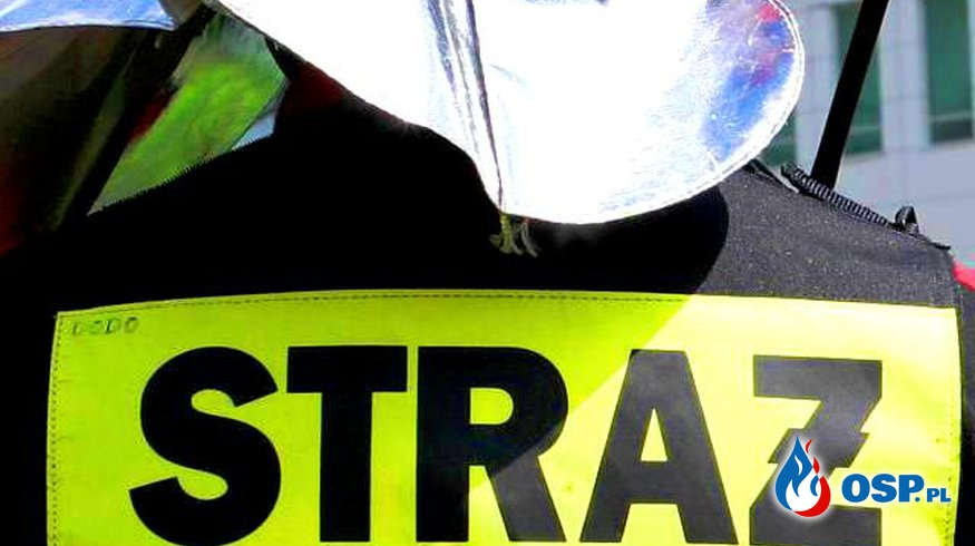 Wypadek drogowy - fałszywy alarm OSP Ochotnicza Straż Pożarna