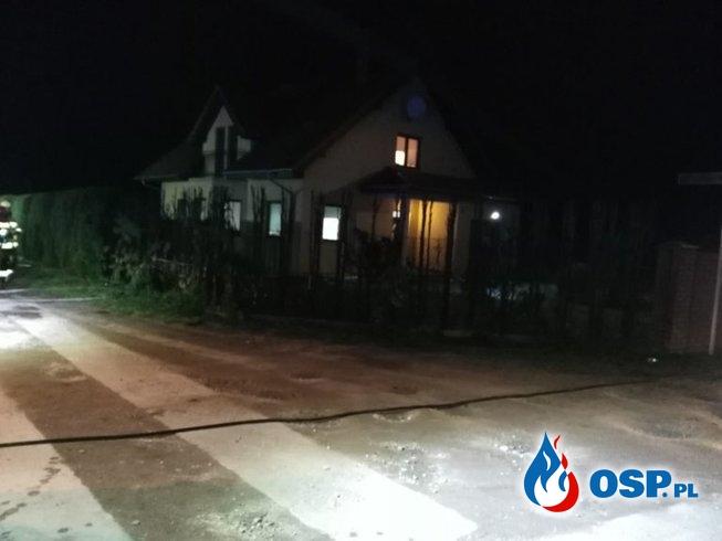Wronki – pożar żywopłotu OSP Ochotnicza Straż Pożarna