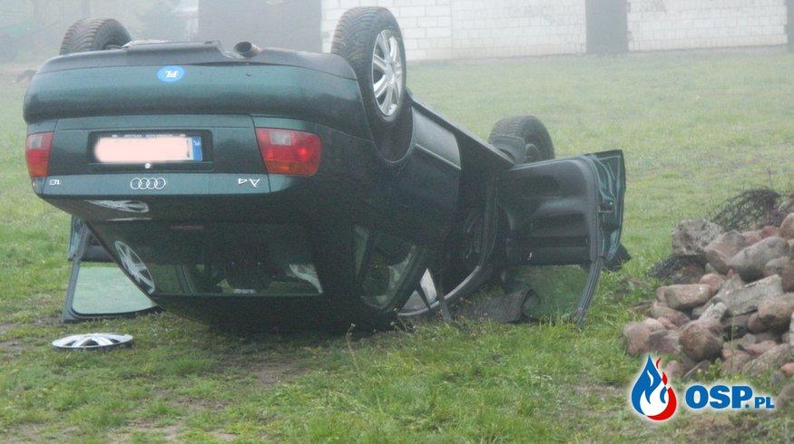 Wypadek w Szczuczynie OSP Ochotnicza Straż Pożarna