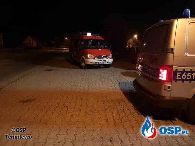 Templewo- poszukiwania trojga nastolatków OSP Ochotnicza Straż Pożarna