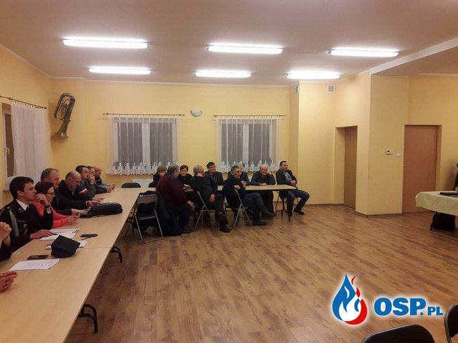 Walne Zebranie OSP Wojciechów OSP Ochotnicza Straż Pożarna