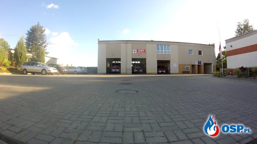 Hołd OSP BARLINEK dla dwóch poległych strażaków z JRG 1 Białystok OSP Ochotnicza Straż Pożarna