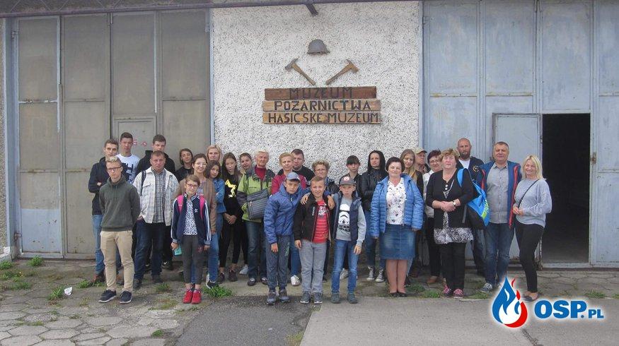 Wycieczka do Muzeum Pożarnictwa w Strzelcach Opolskich oraz zamku w Mosznej OSP Ochotnicza Straż Pożarna