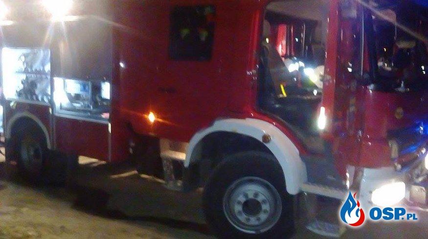 Pożar w Solinie OSP Ochotnicza Straż Pożarna
