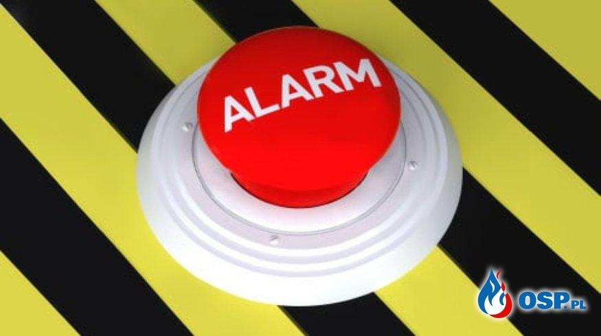 Pożar szopki OSP Ochotnicza Straż Pożarna
