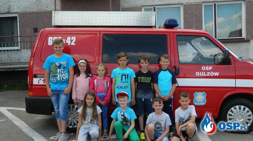 Dziecięca Drużyna Pożarnicza w Gulzowie OSP Ochotnicza Straż Pożarna