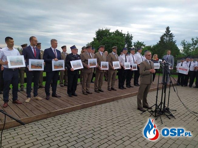 Odzanaczenia za walkę z pożarem w BPN OSP Ochotnicza Straż Pożarna