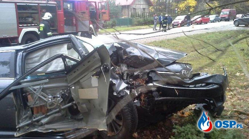 ALARM 15/2017 OSP POGORZAŁKI OSP Ochotnicza Straż Pożarna