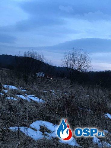 Początek ocieplenia - początek wypalania traw OSP Ochotnicza Straż Pożarna