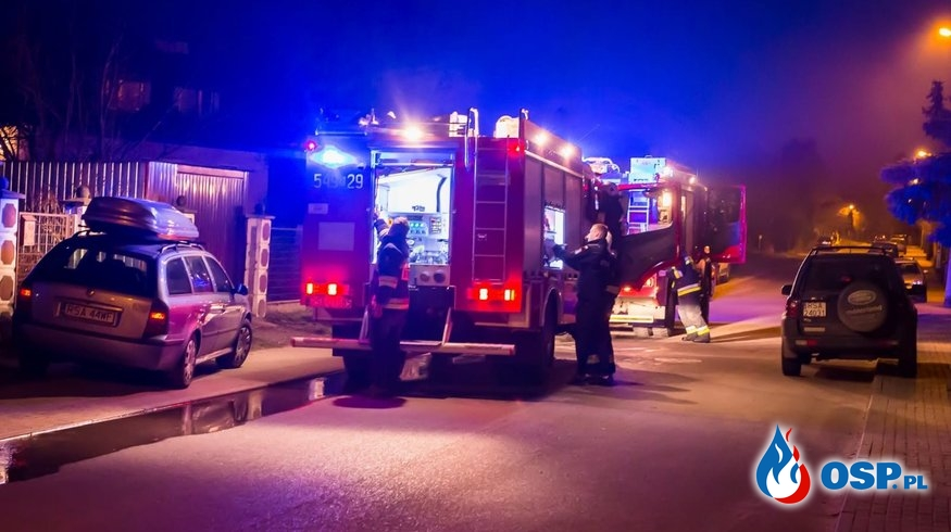 Dwa wyjazdy w jedno popołudnie OSP Ochotnicza Straż Pożarna