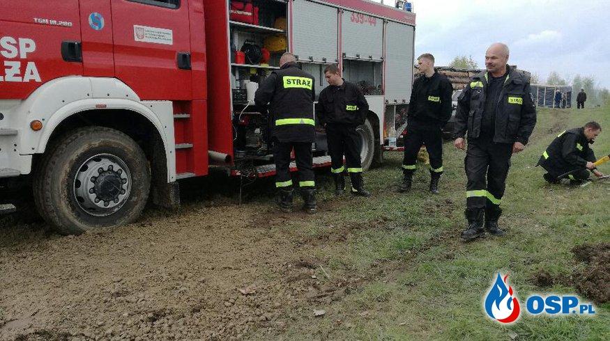 Zabezpieczenie - XX Turniej Rycerski na Zamku w Iłży OSP Ochotnicza Straż Pożarna