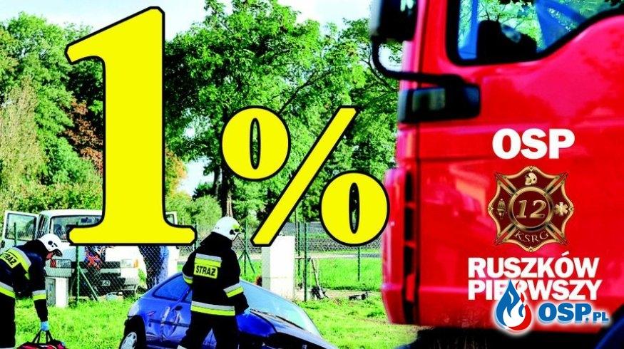 1% dla OSP Ruszków Pierwszy OSP Ochotnicza Straż Pożarna