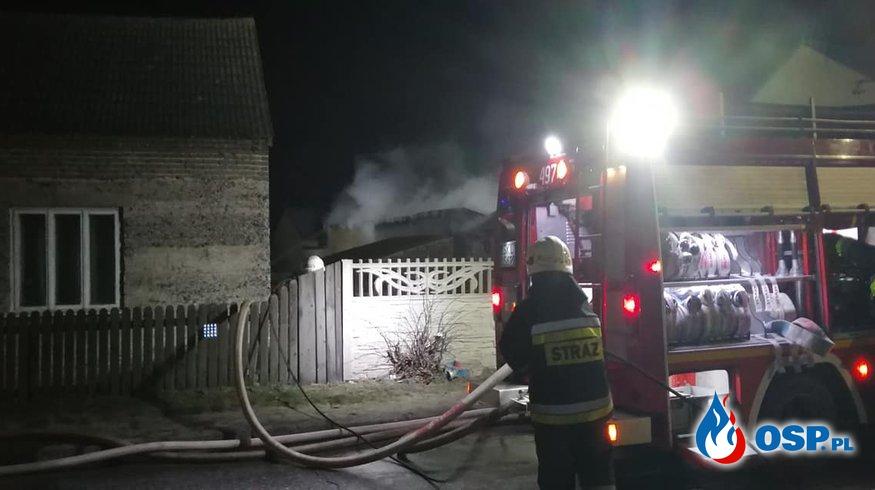 Pożar u prezesa OSP Łobodno. Ruszyła internetowa zbiórka na odbudowę zniszczeń. OSP Ochotnicza Straż Pożarna
