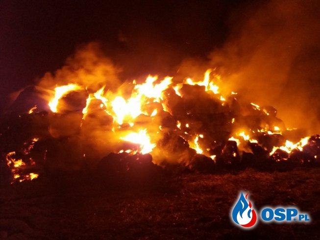 31.05.18 23:11 - POŻAR STOGU, JANIKOWO - pole przy obwodnicy OSP Ochotnicza Straż Pożarna