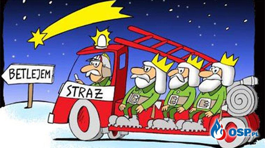 Zdrowych Wesołych Świąt ! OSP Ochotnicza Straż Pożarna