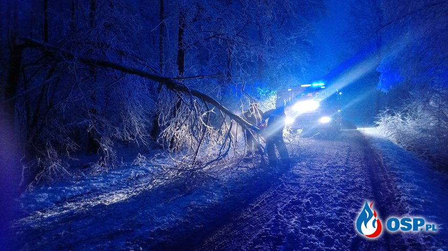 Pierwszy atak zimy! OSP Ochotnicza Straż Pożarna