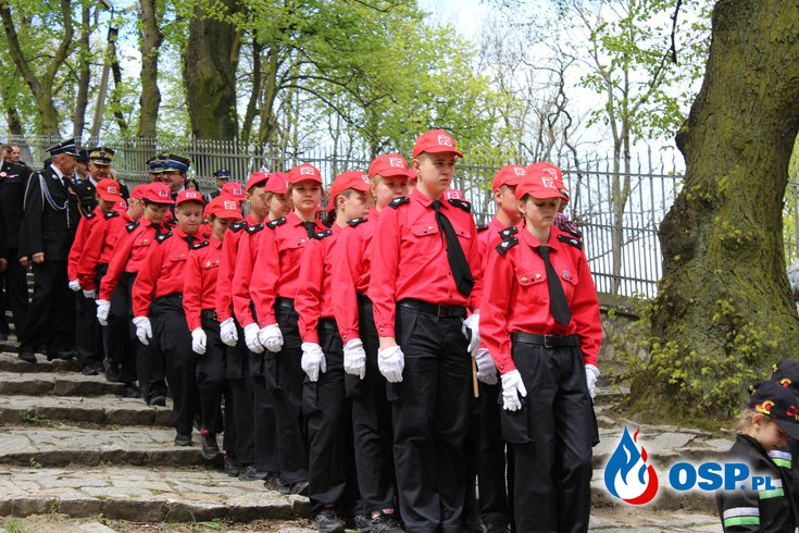 XX Pielgrzymka na Górę Św. Anny OSP Ochotnicza Straż Pożarna