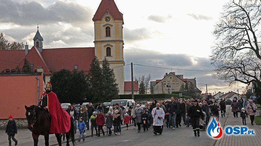 Obchody ku czci Św. Marcina OSP Ochotnicza Straż Pożarna