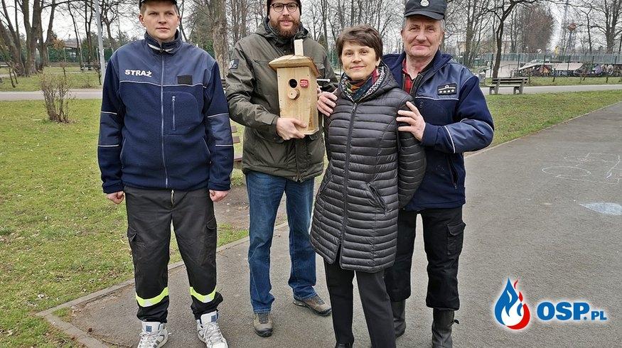 Wieszamy budki dla ptaków! OSP Ochotnicza Straż Pożarna