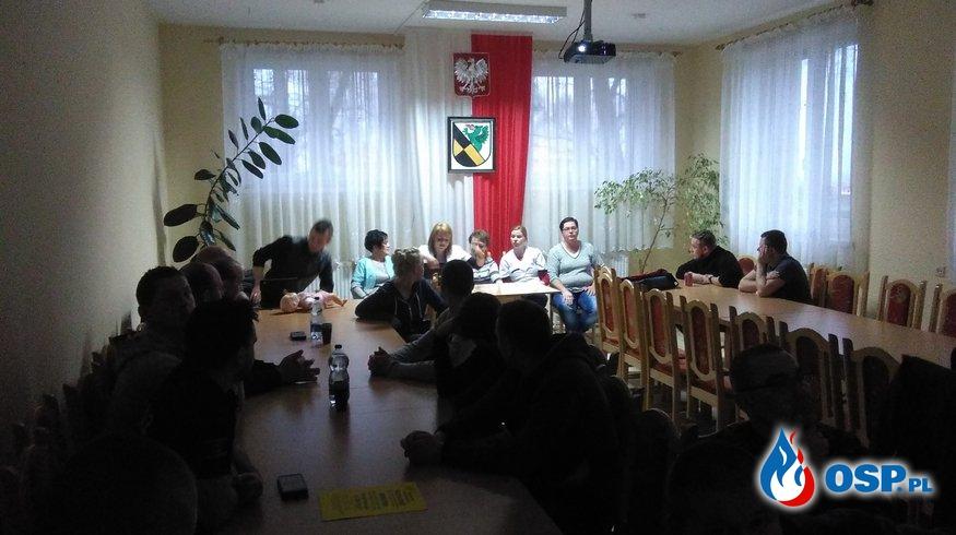 Szkolenie z zakresu udzielania KPP kobietom w ciąży w czasie wypadku OSP Ochotnicza Straż Pożarna