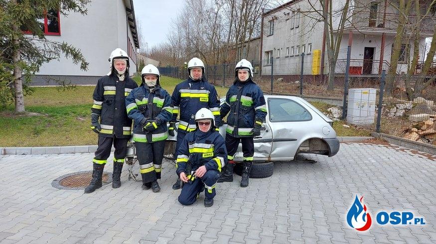 Szkolenie podstawowe strażaka ratownika OSP Ochotnicza Straż Pożarna