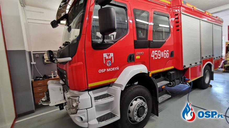 Pożar w Witnicy OSP Ochotnicza Straż Pożarna