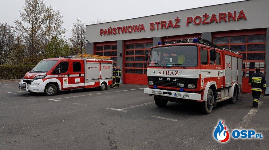 Zabezpiecznie rejonu działania OSP Ochotnicza Straż Pożarna