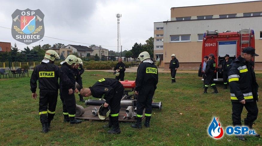 Sportowe zmagania strażaków z gminy Słubice OSP Ochotnicza Straż Pożarna