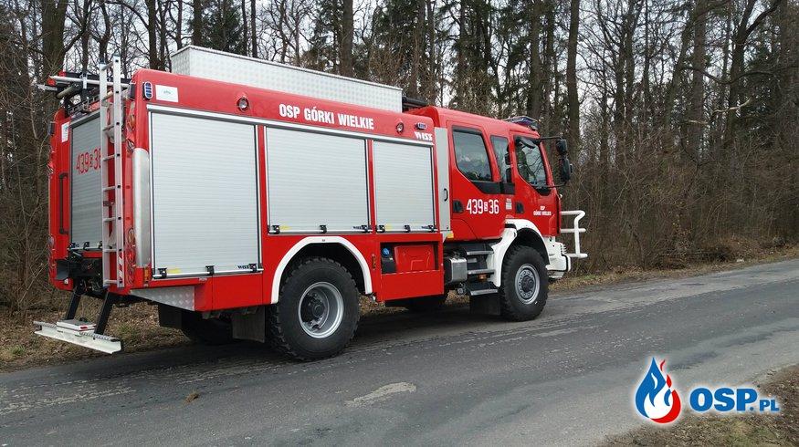 Poszukiwania i kontrola gotowości bojowej OSP Ochotnicza Straż Pożarna