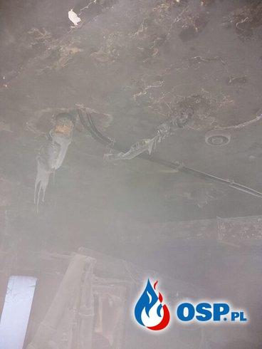 Wronki – pożar kotłowni w restauracji OSP Ochotnicza Straż Pożarna