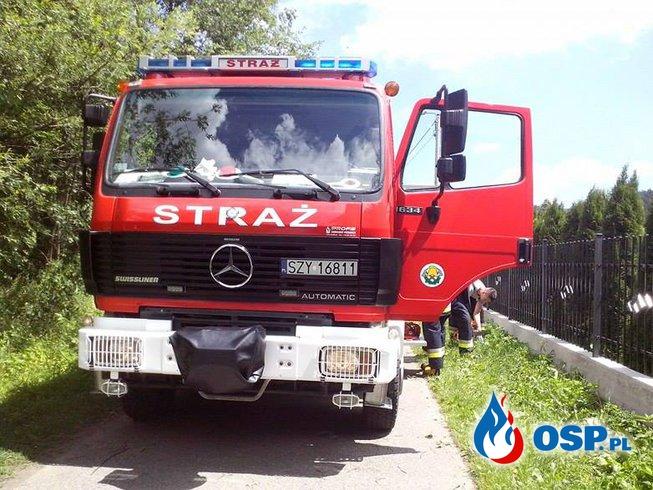 Wyjazd do powalonych drzew ! OSP Ochotnicza Straż Pożarna